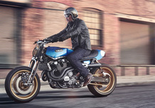 Yamaha Yard Built:  XJR1300 Rhapsody in Blue