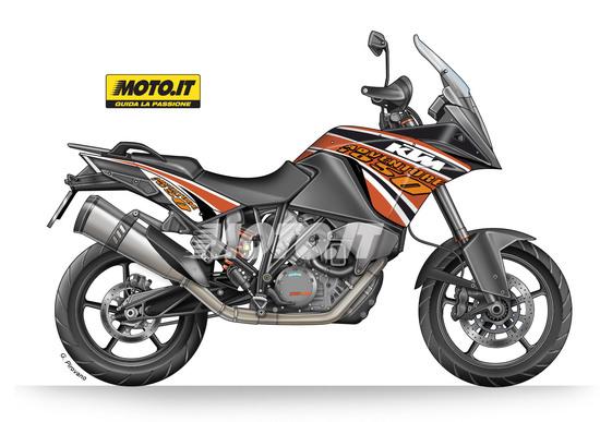 KTM 1050 Adventure 2015: come sarà!