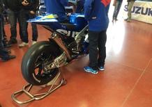 Incidente per de Puniet nei test Suzuki MotoGP al Mugello