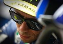MotoGP. Brutta caduta per Rossi ad Aragon, Tac negativa