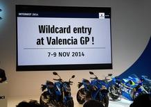 Suzuki, ufficiale il rientro in MotoGP nel 2015