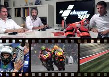 DopoGP con Nico e Zam. GP di Aragon, Lorenzo mago della pioggia