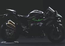 Kawasaki Ninja H2, primo teaser della versione stradale
