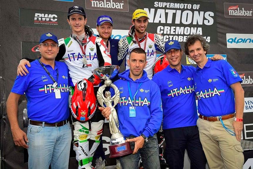 Supermoto delle Nazioni. Italia seconda dietro alla Francia (3)