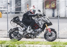 Ducati Multistrada 2015: foto spia