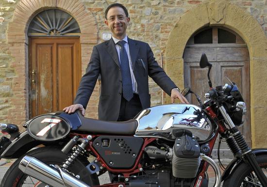 Andrea Benedetto, direttore sviluppo prodotto due ruote Piaggio