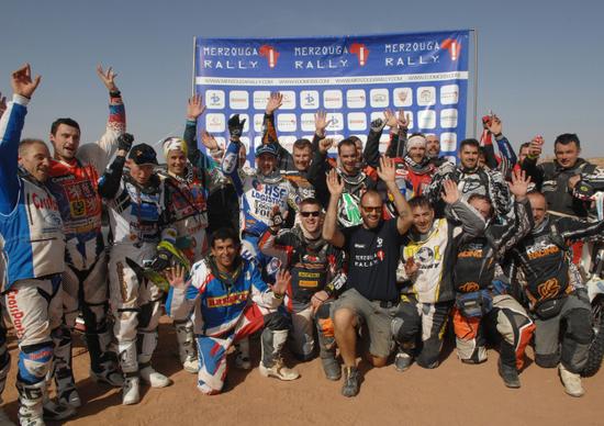 Merzouga Rally. Vince Pal Anders Ullevalseter (KTM)