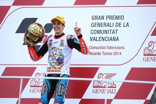 Alex Marquez, terzo in gara, vince il titolo Moto3