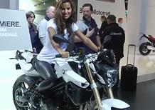 BMW F800R 2015, video EICMA