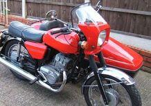 Jawa 350 Style Sidecar 562