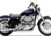 Harley-Davidson 883 Sportster Hugger (1992 - 93) - XLH