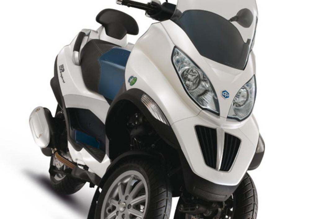 piaggio mp3 125 hybrid (2009 - 13), prezzo e scheda tecnica - moto.it