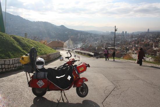 EuroVespa 50: seconda parte, Sarajevo