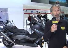 Yamaha TMAX 2015, video EICMA