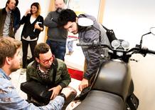 Moto.it porta Moto Guzzi V7 allo IED per le tesi di laurea 2015