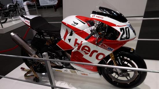 La moto da superbike che ha corso quest'anno