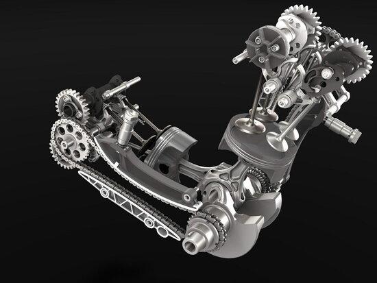Il super alesaggio e la distribuzione del Ducati Panigale