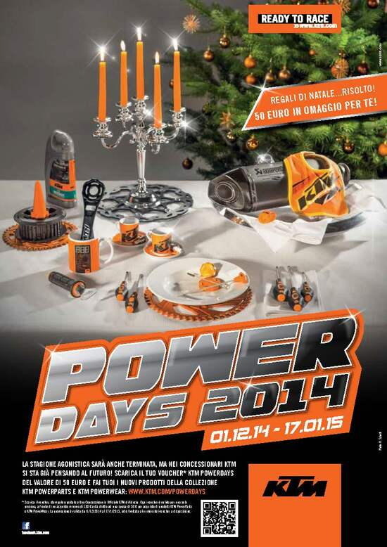 KTM: al via i Power Days 2014