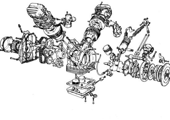 Massimo Clarke: I motori V2 trasversali, Guzzi e non solo