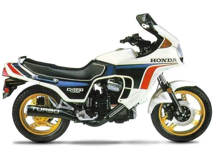 Honda CX 650 Turbo, 1982