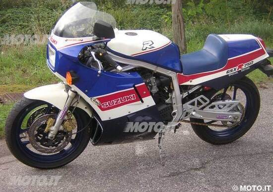 Le Belle e Possibili di Moto.it: Suzuki GSX-R 750R