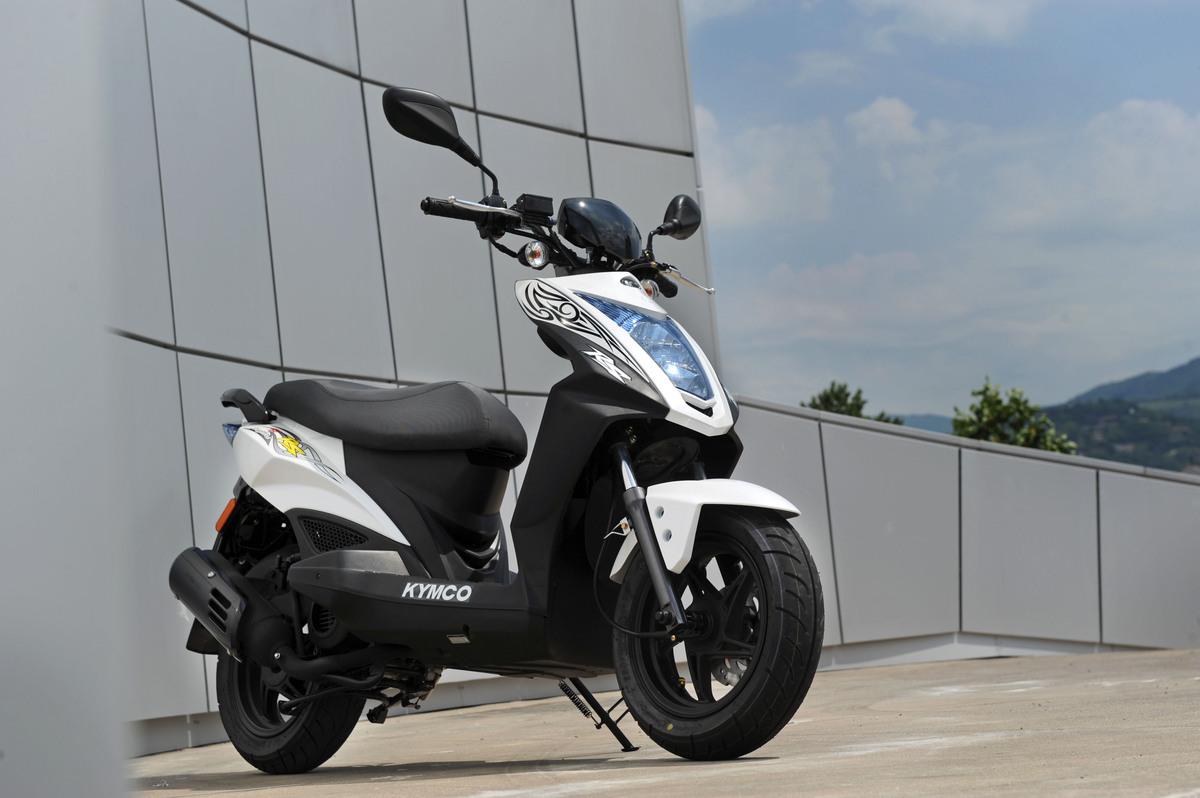Présentation du scooter 50 Kymco Agility 50 Naked Renouvo