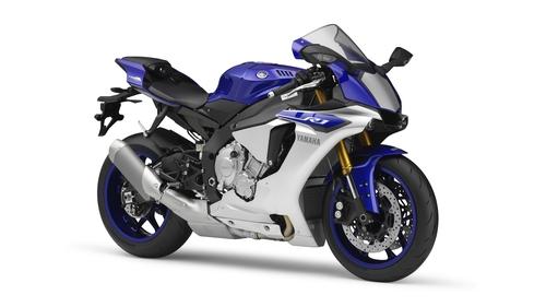 La colorazione Race Blu della Yamaha R1 2015