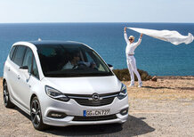 Opel Zafira restyling [Video prime impressioni]