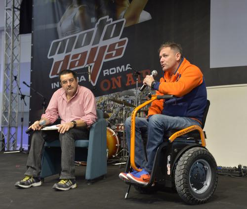 Nicola Dutto, pilota paraplegico, terzo alla Baja 1000