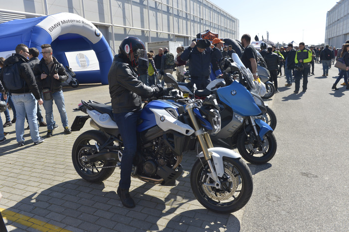 Il bel tempo del weekend ha favorito i demo ride
