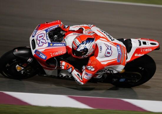 Test MotoGP a Losail, Day 2. Miglior tempo per Dovizioso