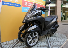 Yamaha Tricity 155 a Milano con Negrimotors