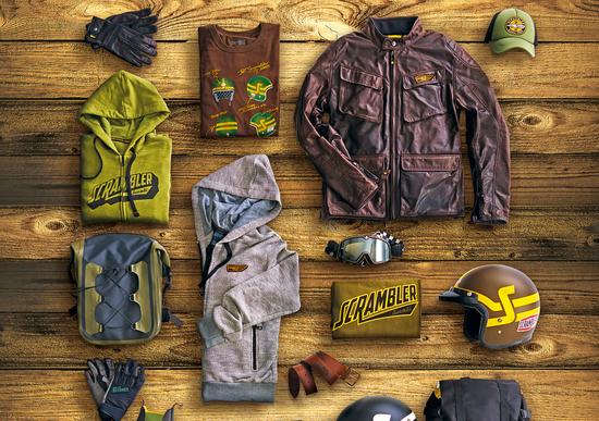 Ducati Scrambler: tutto l'abbigliamento e gli accessori