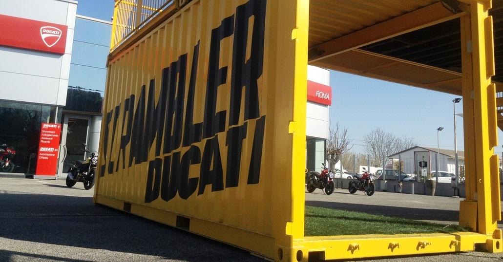 Ducati Roma si prepara al Weekend da Scrambler
