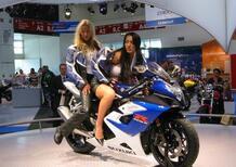 Intermot 2004: belle moto lassù a Monaco