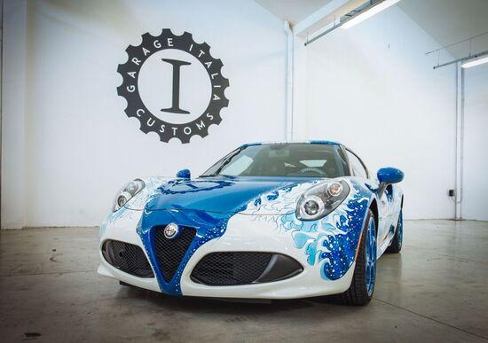 Alfa Romeo 4C Hokusai: arte giapponese, ingegneria italiana