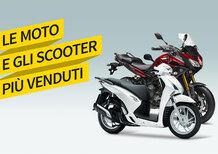 Mercato a marzo: moto in attivo, ma scooter giù. Le Top 100