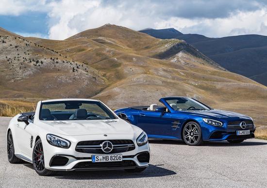 "Mercedes SL restyling: non chiamatelo semplicemente ""facelift"""