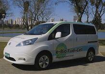 Nissan: svelato il prototipo del primo veicolo Fuel-Cell a bio-etanolo
