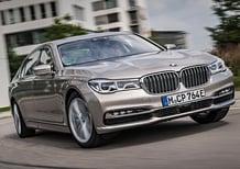 BMW Serie 7 ibrida plug in 740e iPerformance [Video Primo test]
