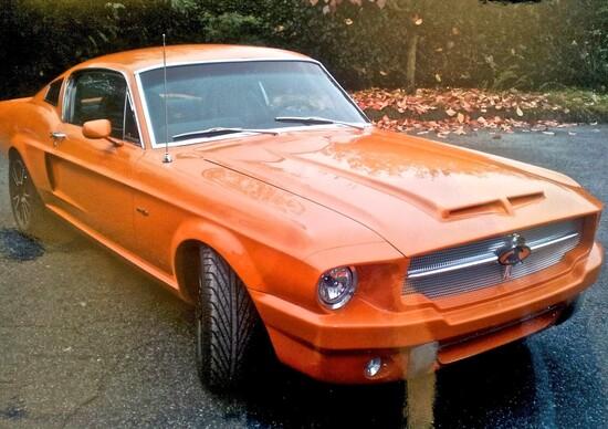 Una Mustang rinfrescata su richiesta del cliente