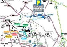 GP Italia F1 2016, Monza: i parcheggi