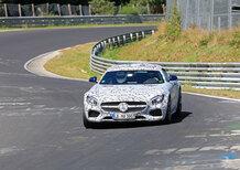 Nuova Mercedes AMG GT Roadster: nuovi test al Ring