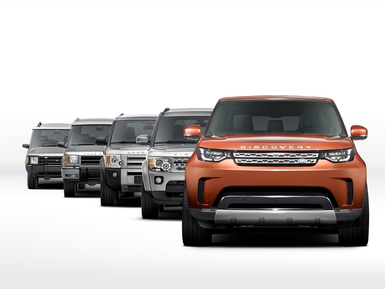 Nuova Land Rover Discovery 2017: ecco le prime immagini
