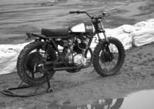 Anvil Rusty Quattroemezzo, flat track Honda