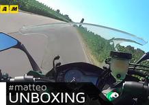 L'unboxing di Matteo: Kawasaki Z1000SX