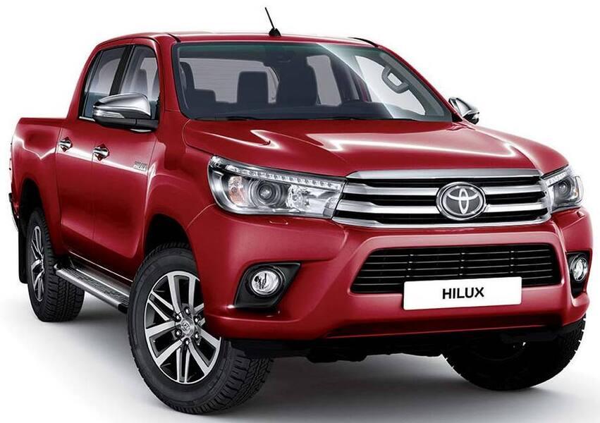 Toyota Hilux Pick-up 2.D-4D 4WD porte Double Cab Comfort