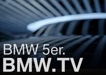 Nuova BMW Serie 5 2017: primi teaser ufficiali in vista di Parigi