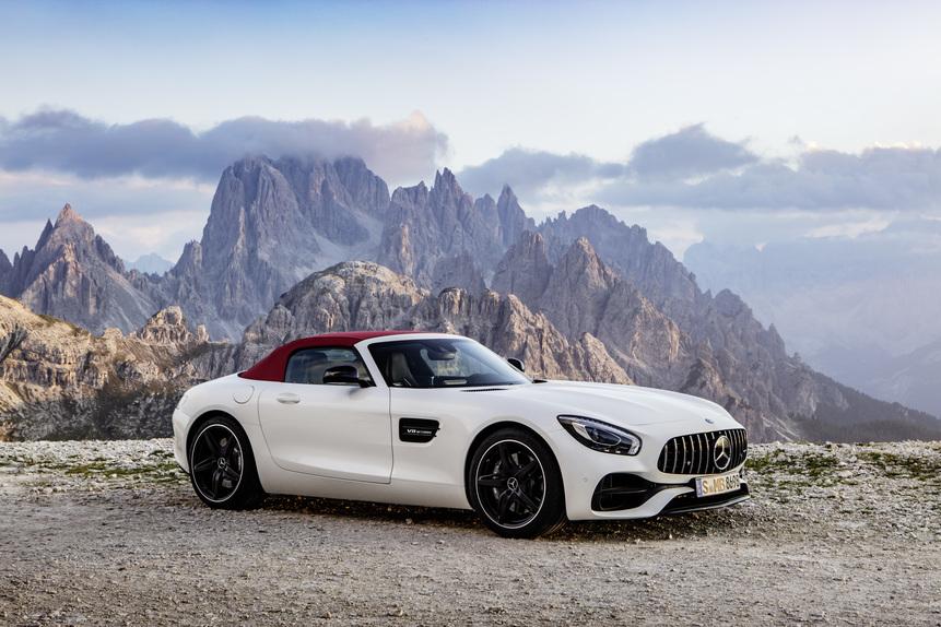 Mercedes-AMG GT e GT C Roadster: al Salone di Parigi 2016 en-plain-air (3)