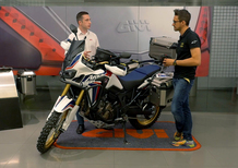 GiVi: kit per Honda CRF1000L Africa Twin